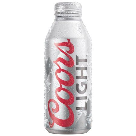 16 oz coors light coors light 174 16 fl oz bottle walmart com