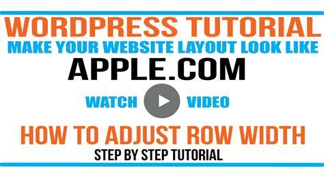 wordpress website tutorial youtube wordpress tutorial adding apple com features to your