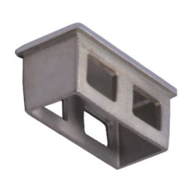 Engsel Panel Ss 50mm offset 50mm x 25mm end cap ss316