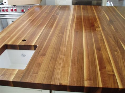 Wood Plank Bar Top by Standard Plank Wood Countertops By Custom