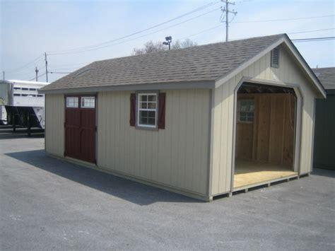 20x20 Garage Kit by Amish Built 14x24 A Frame Garage Storage Shed Duratemp