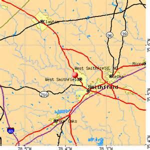 smithfield carolina map west smithfield carolina nc 27577 profile
