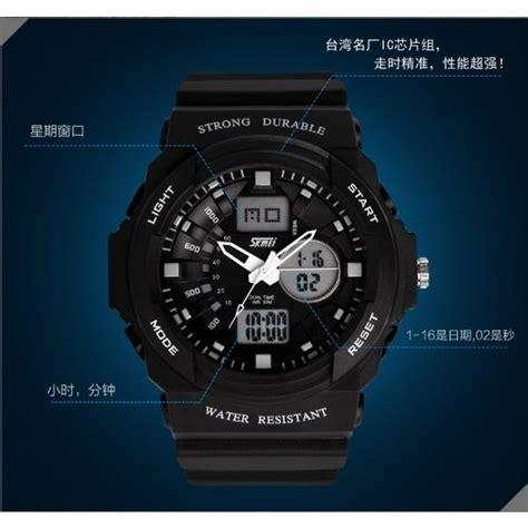 Skmei S Shock Sport Water Resistant 50m Ad0955 Br skmei jam tangan analog digital pria ad0955 black