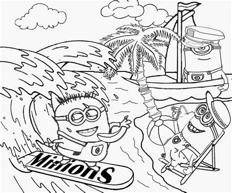 surf coloring pages black and white az coloring pages