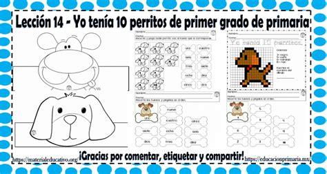 lecciones de primer grado de primaria lecciones de primer grado de primaria excelente material educativo para trabajar la lecci 243 n 14