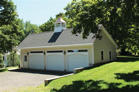 woodstock saltbox style one story garage the barn yard