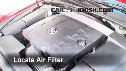 oil filter location on 2010 cadillac cts, oil, free engine