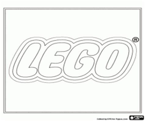 Juegos de Lego para colorear, imprimir y pintar #2