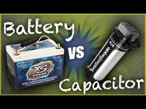 capacitor remove battery car batteries or capacitors which should i install car audio tips