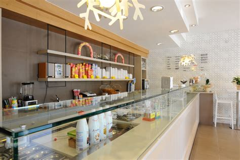 design cafe ice cream modern coffee shop interior design and bar furniture