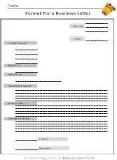 Business Letter Graphic Organizer Formal Letter Format