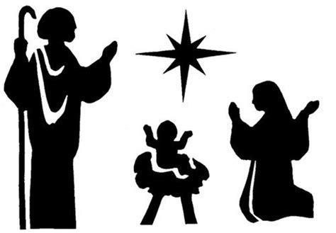imagenes en blanco y negro del nacimiento de jesus siluetas navide 241 as gratis buscar con google navidad