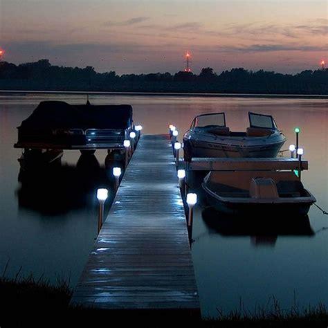 solar dock post lights solar dock lights outdoor boat dock post light boat