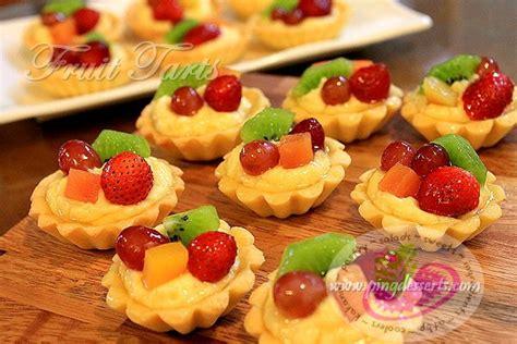 fruit dessert recipes fruit tart recipe dessert recipes by