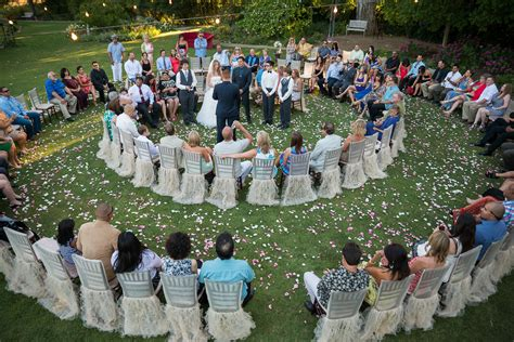 how to set up a backyard wedding tips for planning a backyard wedding the snapknot blog