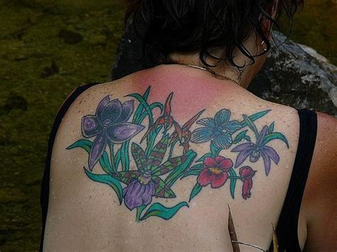 bunch of roses tattoo bunch of flowers on back tattooimages biz