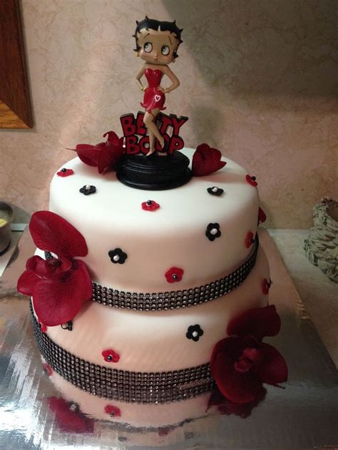 Or Cake Betty Boop Cake Cake Ideas