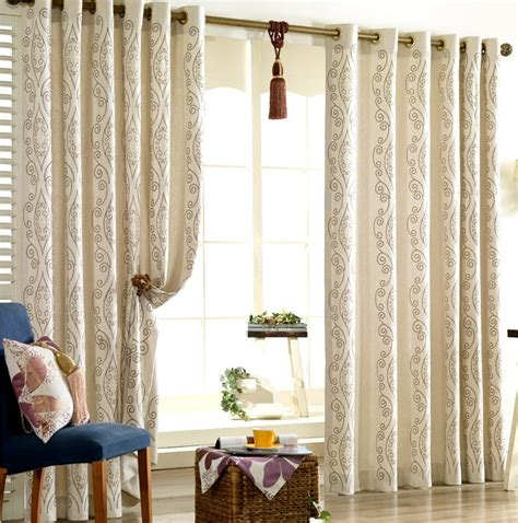 embroidered linen curtains shop popular embroidered linen curtains from china