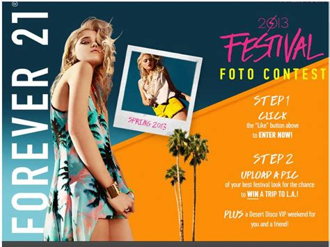 Forever 21 Sweepstakes - forever 21 fashion fest foto contest sweepstakes fanatics