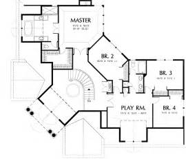 4 Bedroom Floor Plan grand angled entrance 69363am cad available den