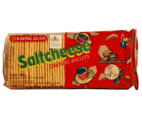 Khong Guan Crackers khong guan salt cheese crackers 200gm 80 z zfood
