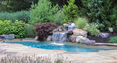 poolside landscaping swimming pool gooosen com