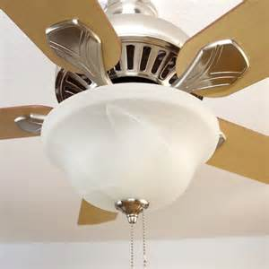 ceiling fan globes install or replace a ceiling fan