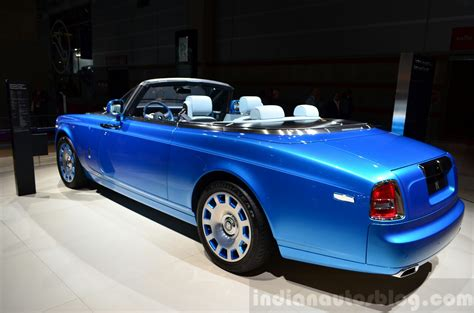rolls royce phantom rear rolls royce phantom drophead coupe waterspeed collection