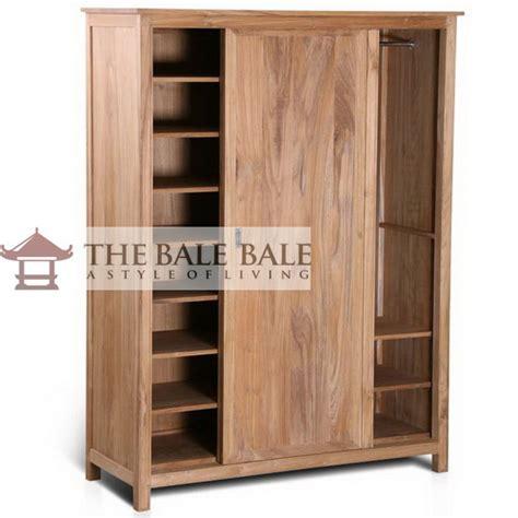 desain lemari jati minimalis 5 model desain lemari pakaian jati minimalis mebel jati