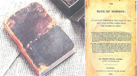 pictures of the book of mormon fbi recovers edition of the book of mormon
