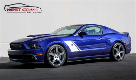 Ford Mustang Roush Stage 3 by 2013 Ford Mustang Roush Stage 3 West Coast Cars