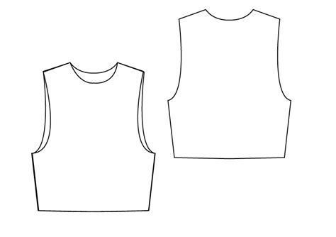 jersey pattern pdf jersey boxy vest pdf sewing pattern by angela kane