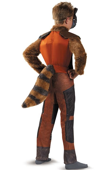 rocket raccoon costume rocket raccoon deluxe child costume purecostumes