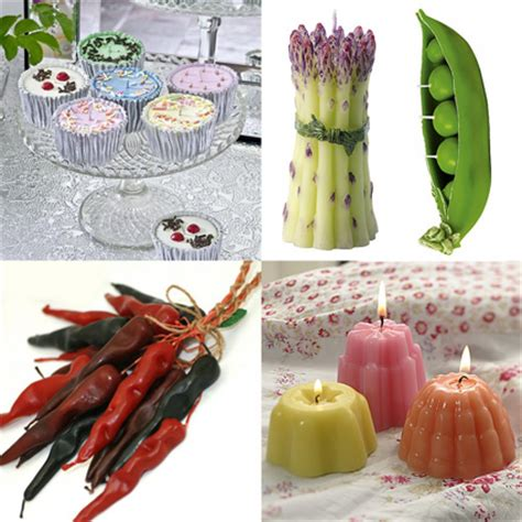 candele a forma di dolci le candele a forma di cibo doki cucina