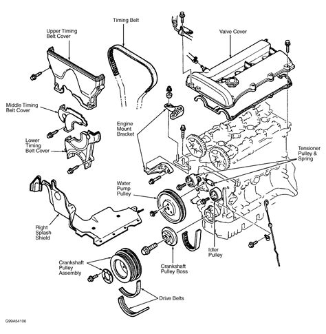 97 mazda protege parts 97 mazda protege engine diagram wiring diagram with