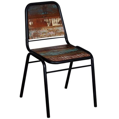 Reclaimed Wood Dining Chairs Vidaxl Dining Chairs 4 Pcs Solid Reclaimed Wood 44x59x89 Cm Vidaxl Co Uk