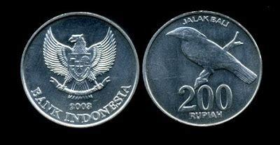 Uang Receh Rp200 Emisi 2003 Jalak Bali Uang Koin Buat Mahar Koleks macam macam uang logam indonesia smart