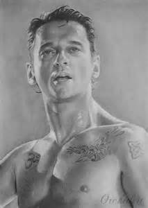 portrait of dave gahan by orchidett on stars portraits 14