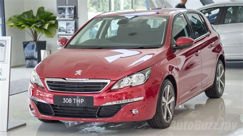 peugeot malaysia peugeot 308 thp active launched in malaysia priced at