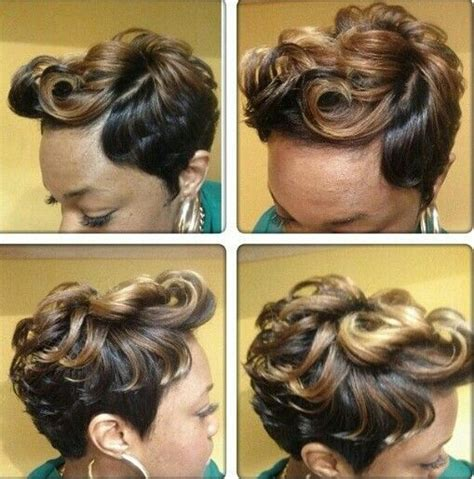 front flip hair 637 best slayed short styles images on pinterest short