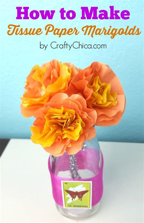 How To Make Mexican Flowers Out Of Tissue Paper - 229 best images about diy flowers on