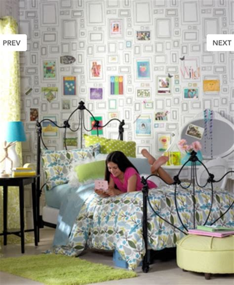 wallpaper for teenage bedrooms retro modern wallpaper delight