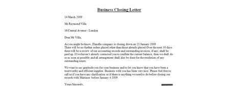 exle of formal letter closing closing a letter how to format cover letter