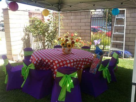 Theme Decoration by Garden Fairy Tea Party Theme Kids Birthday Party Ideas