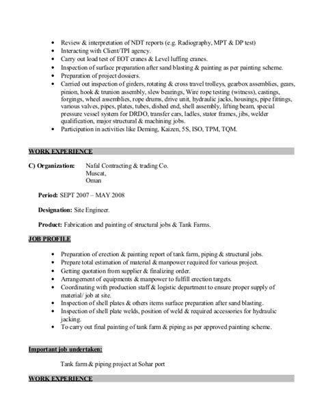 Tushar resume