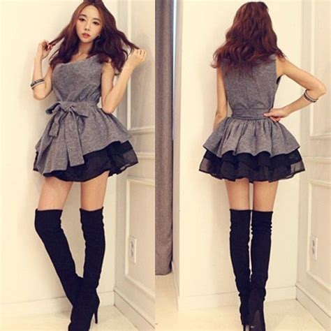 Dress Mini Korean 17 best images about korean fashion on k