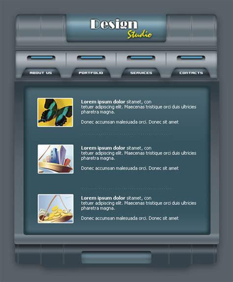 cara desain layout website cara membuat desain layout web sederhana dengan photoshop