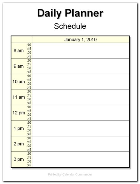 briggs softworks calendar commander sle calendars