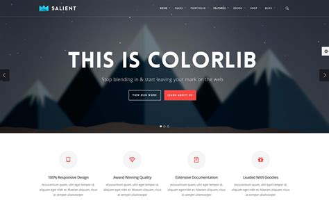 colorlib probably the best wordpress themes