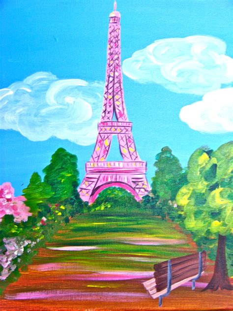 paint with a twist eiffel tower eiffel tower in